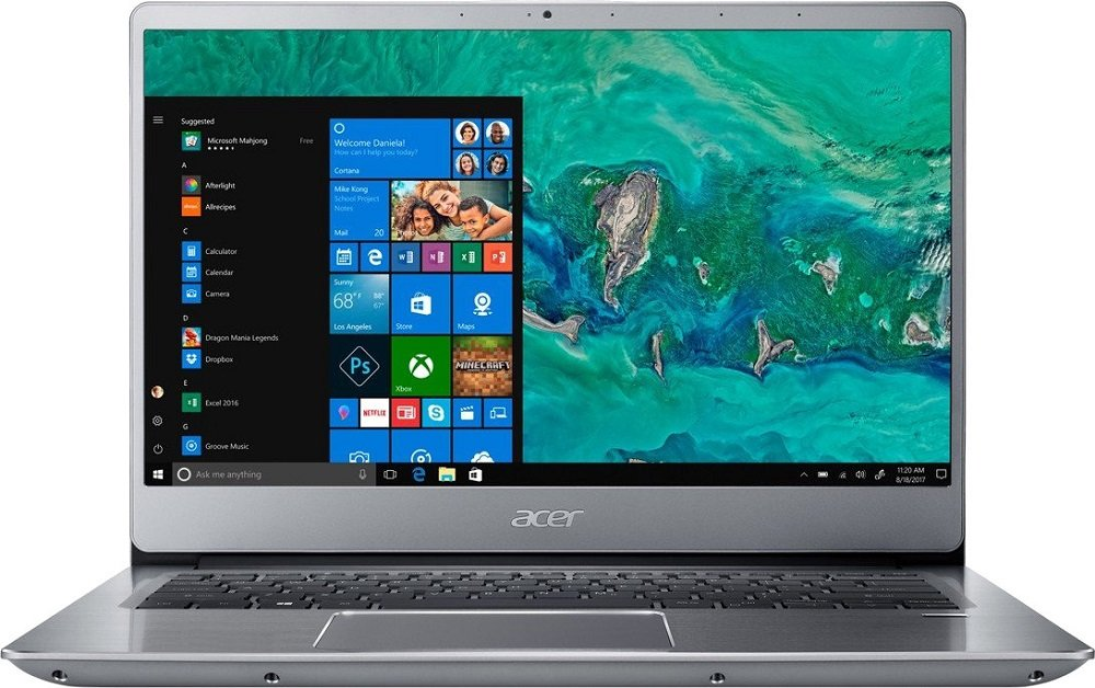 Ультрабук Acer Swift 3 SF314-54-36EG (NX.GXZEU.009) фото