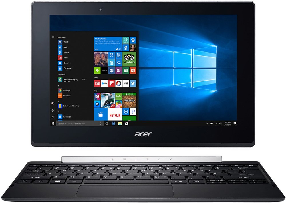Планшет Acer Switch V10 SW5-017-11FU 532GB (NT.LCUER.001)