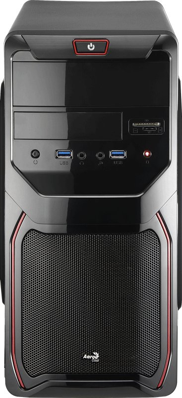 Корпус для компьютера Aerocool Qs-183 Advance Red