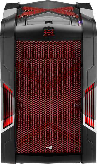 Корпус для компьютера Aerocool Strike-X Cube Red Edition