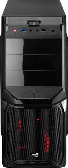 Корпус AeroCool V3X Advance Evil Black Edition 600W фото