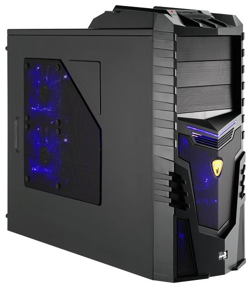 Корпус для компьютера Aerocool X-Warrior Black Edition