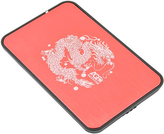 Бокс для HDD AgeStar 3UB2A8 (Red)