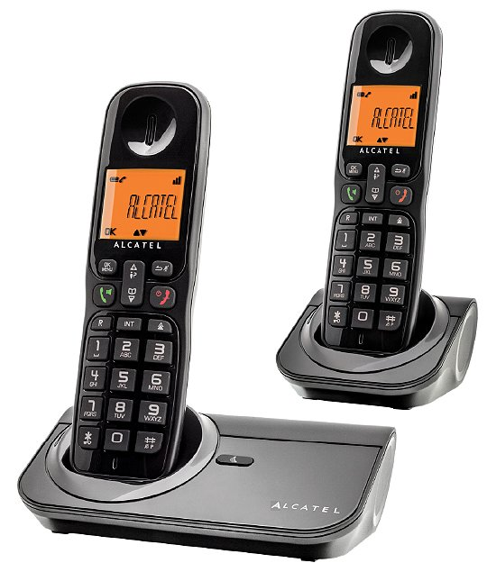 Радиотелефон DECT Alcatel Sigma 260 Duo фото