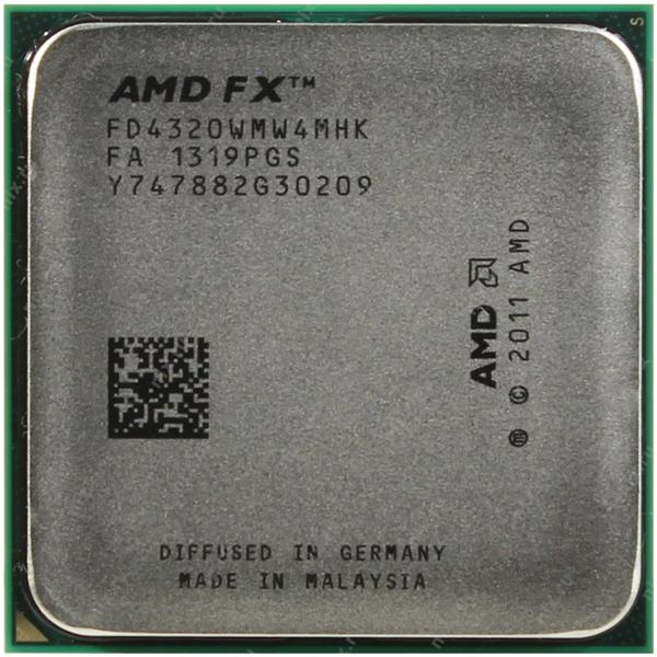Процессор CPU AMD FX-4320 4.0Ghz