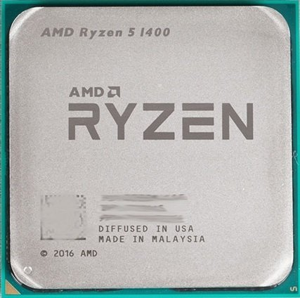Процессор AMD Ryzen 5 1400 3.2GHz