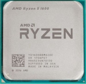 Процессор AMD Ryzen 5 1600 3.2GHz
