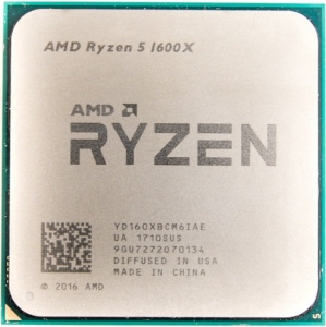 Процессор AMD Ryzen 5 1600X 3.6GHz