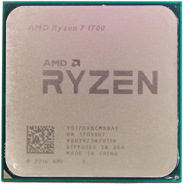 Процессор AMD Ryzen 7 1700 3GHz