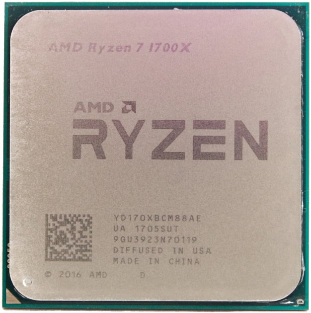 Процессор AMD Ryzen 7 1700x 3.4GHz