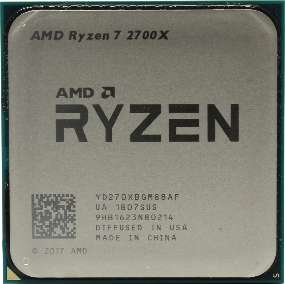 Процессор AMD Ryzen 7 2700X 3.7GHz фото