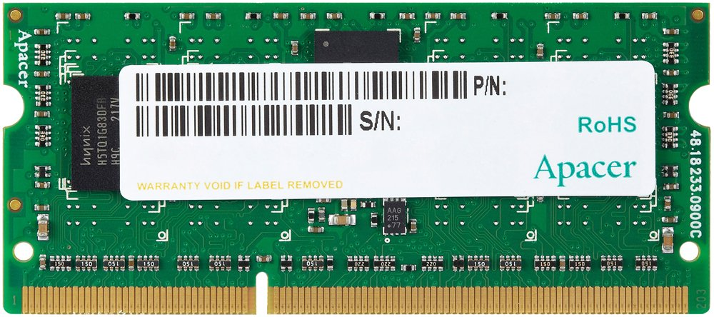 Модуль памяти Apacer AS04GFA60CATBGJ DDR3 PC3-12800 4Gb