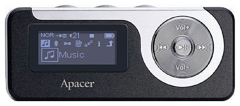 Flash - плеер Apacer Audio Steno AU350 1Gb