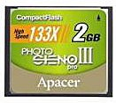 Карта памяти Apacer Photo Steno Pro III CF 133X 2GB