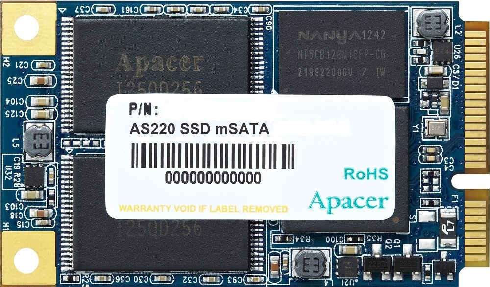 Жесткий диск SSD Apacer Pro II AS220 (AP256GAS220B-1) 256Gb