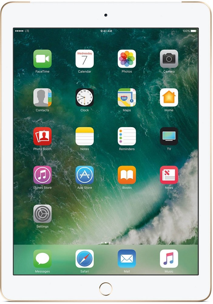 Планшет Apple iPad 128Gb Wi-Fi + Cellular Gold