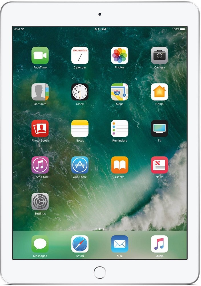 Планшет Apple iPad 128Gb Wi-Fi Silver