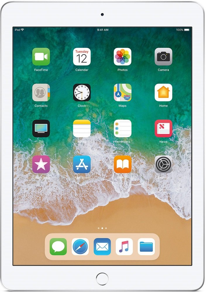Планшет Apple iPad 2018 128GB LTE Silver фото