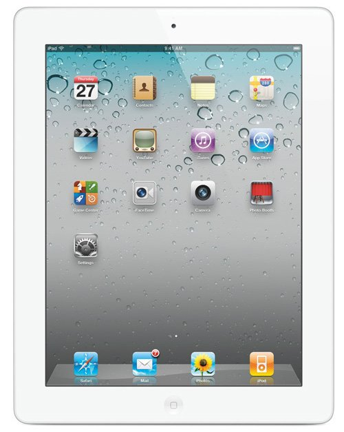 Планшет Apple iPad 2 WiFi 64GB (MC981LL/A)