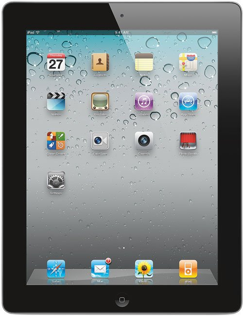 Планшет Apple iPad 2 Wi-Fi 16Gb (MC769)