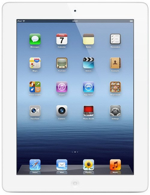 Планшет Apple iPad 4 Wi-Fi + Cellular 128GB (ME407)