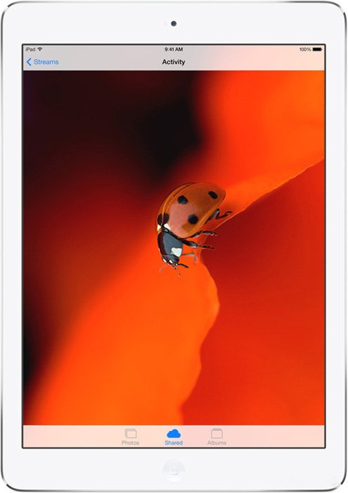 Планшет Apple iPad Air 16GB 4G Silver