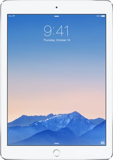 Планшет Apple iPad Air 2 128GB Silver фото
