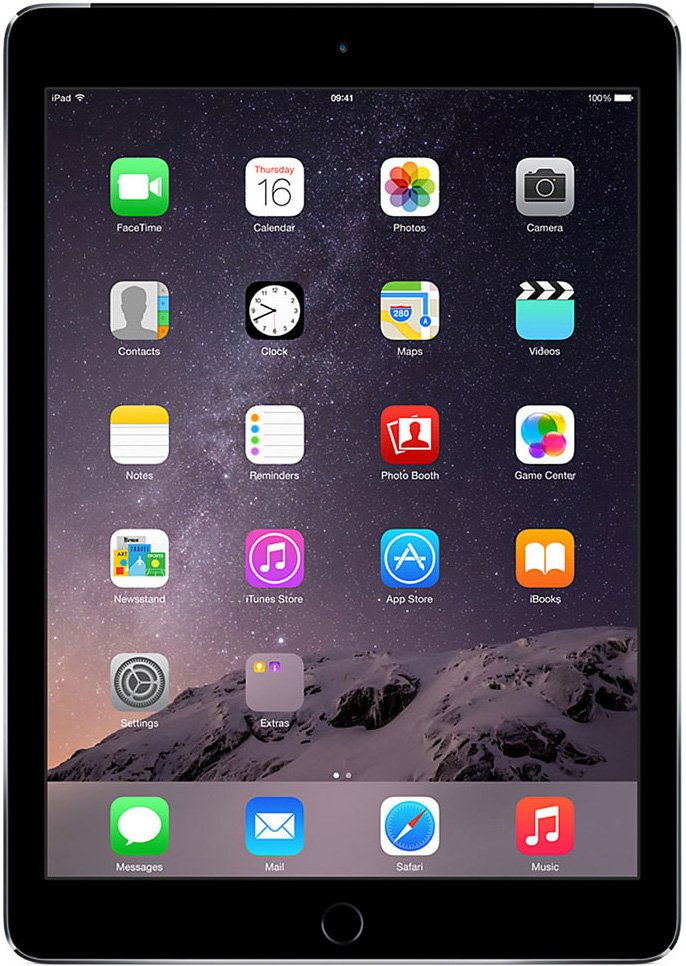 Планшет Apple iPad Air 2 16GB 4G Space Gray фото