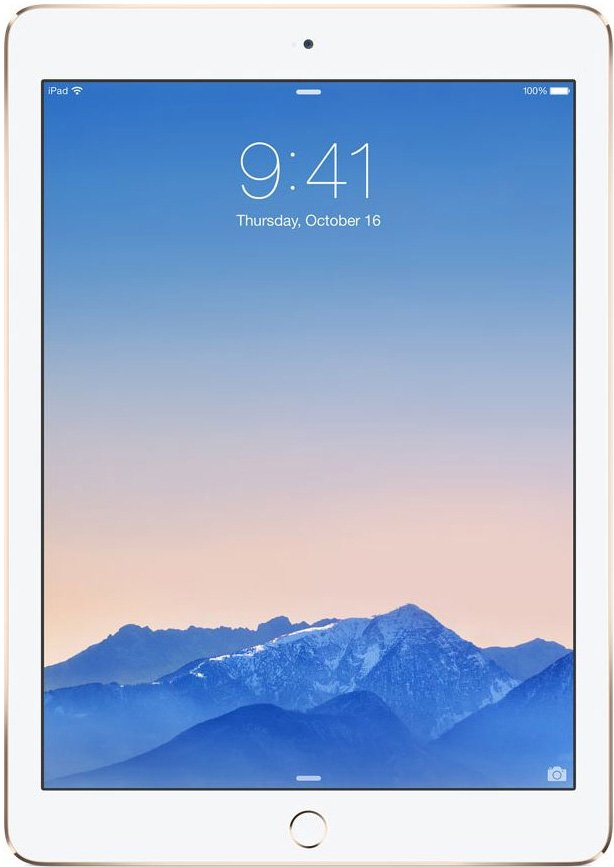Планшет Apple iPad Air 2 64GB 4G Gold
