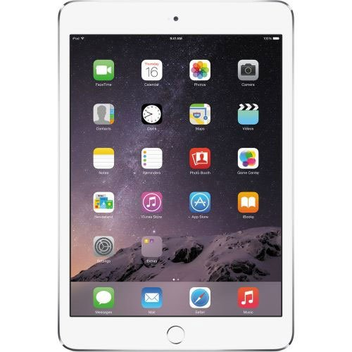 Планшет Apple iPad mini 3 128GB 4G Silver