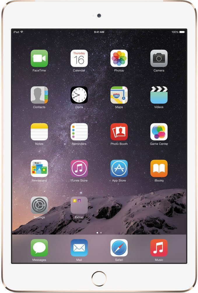 Планшет Apple iPad mini 3 64GB 4G Gold