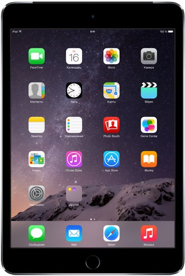 Планшет Apple iPad mini 3 64GB 4G Space Gray