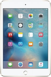 Планшет Apple iPad mini 4 with Retina 128GB 4G Gold фото