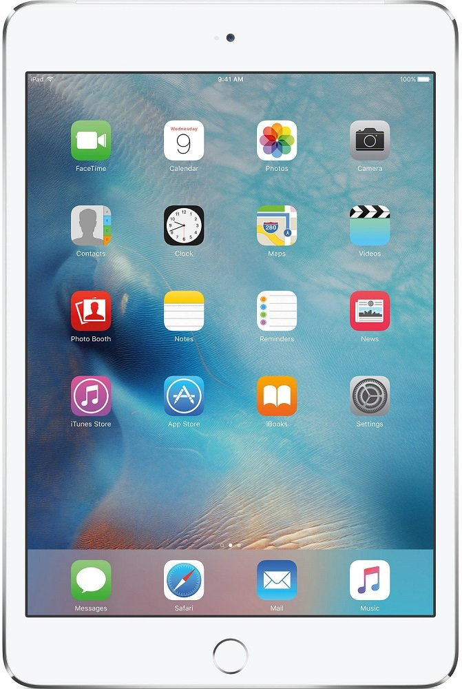 Планшет Apple iPad mini 4 with Retina 128GB 4G Silver фото