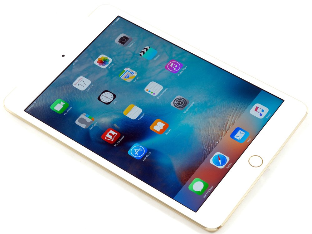 apple ipad mini 4 with retina 32gb 4g gold. Black Bedroom Furniture Sets. Home Design Ideas