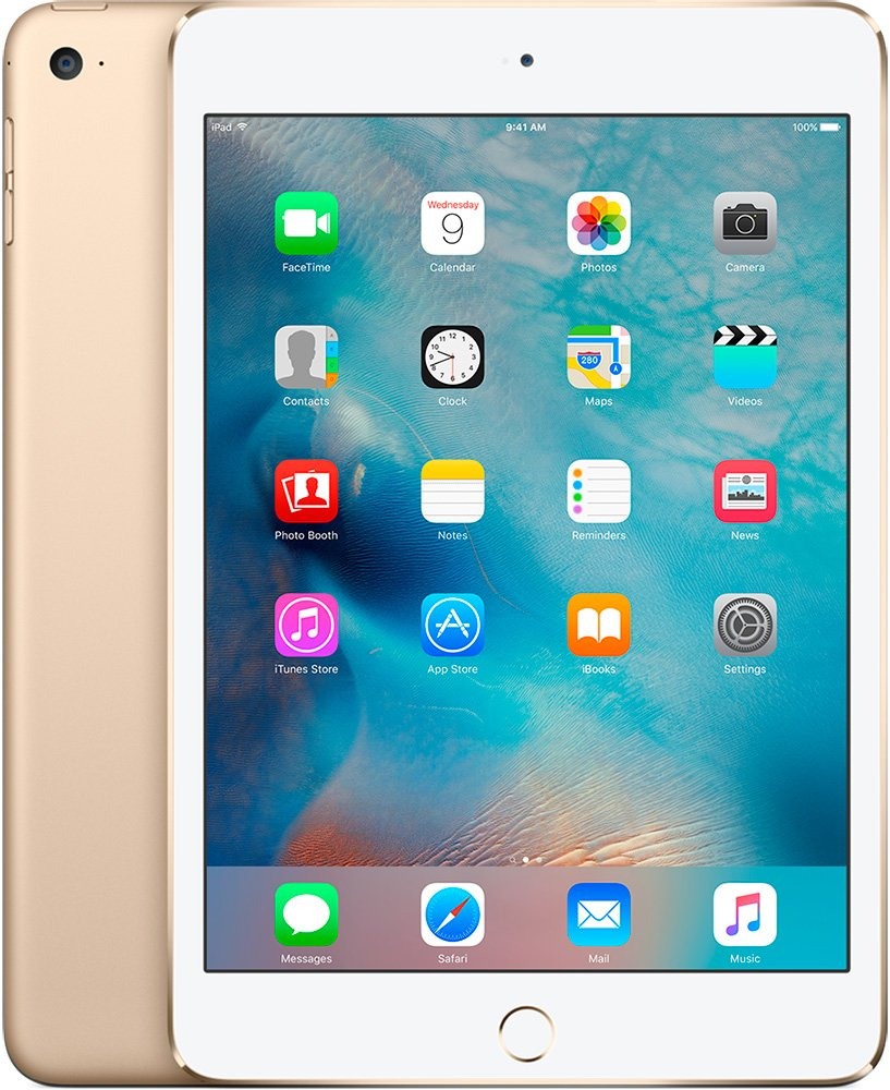 Планшет Apple iPad Pro 128GB 4G Gold фото
