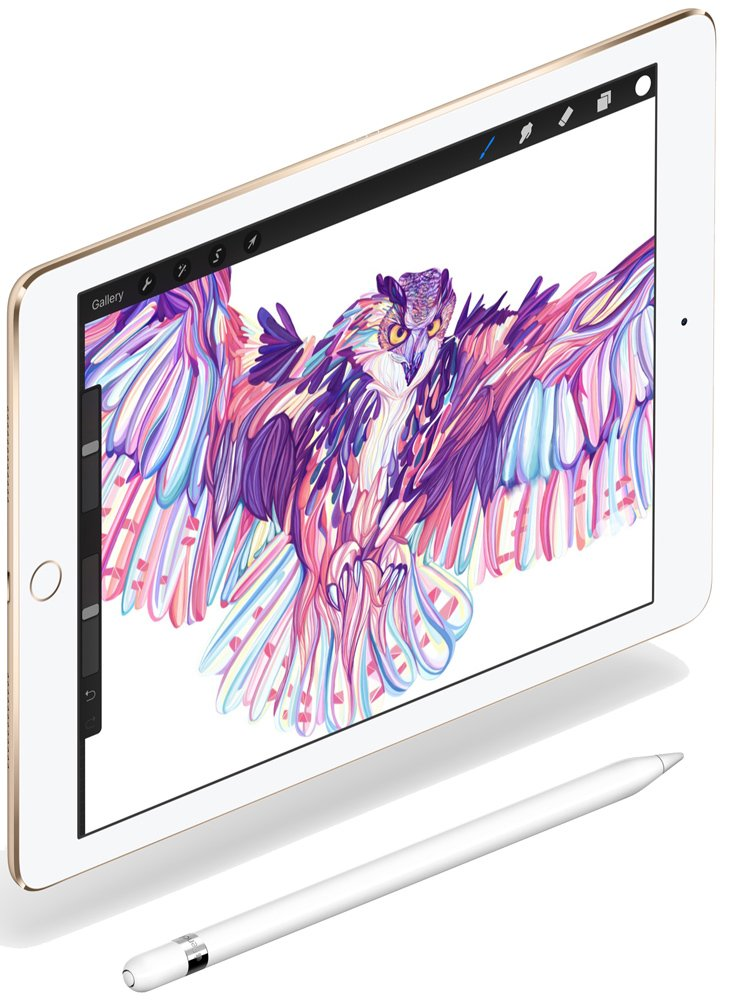 Планшет Apple iPad Pro 9.7 Wi-Fi + Cellular 256Gb (Gold)