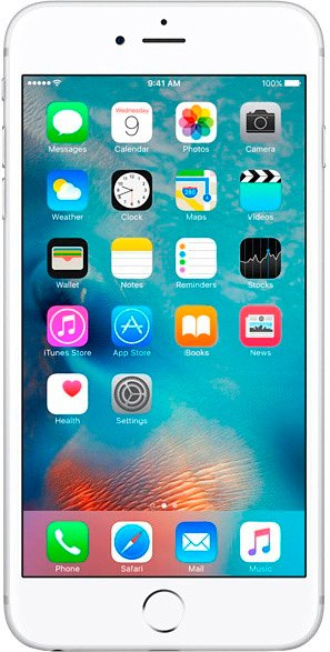 Смартфон Apple iPhone 6s 64Gb Silver фото