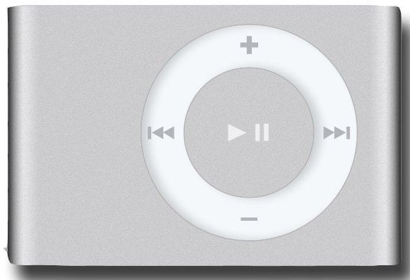Flash - ����� Apple iPod Shuffle 2G 2Gb
