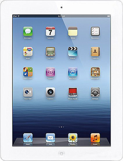 Планшет Apple The New iPad Wi-Fi 4G 64Gb (MD371)