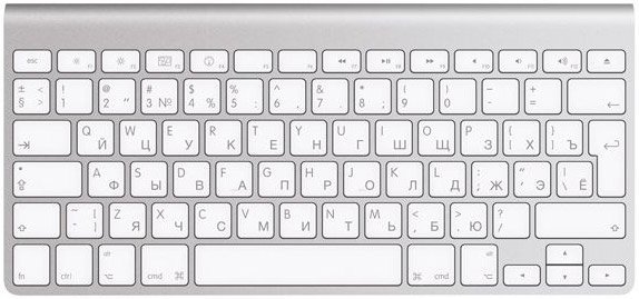 Клавиатура Apple Wireless Keyboard MC184RS/B фото