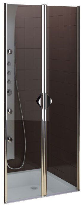 Душевые двери Aquaform Glass 5 Swing Doors 80 (103-06355)