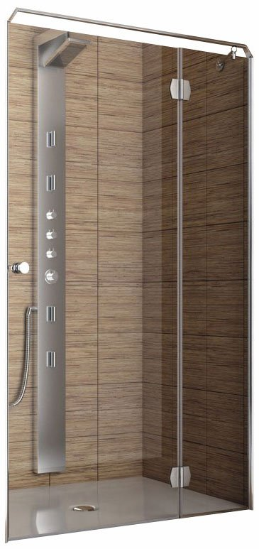 Душевая дверь Aquaform SOL DE LUXE Door Right 100 (103-06053)