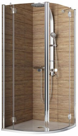 Душевой уголок Aquaform SOL DE LUXE Double-Door 90 (100-06041)