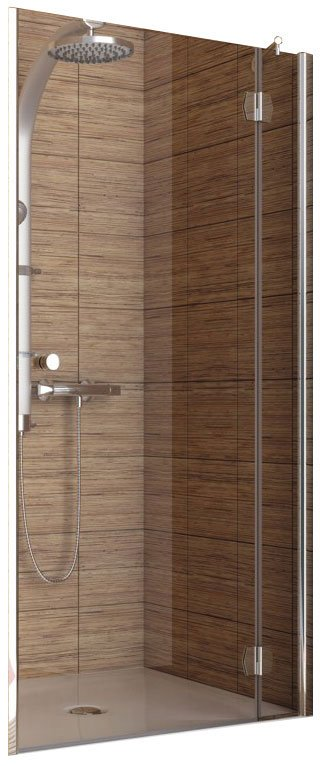 Душевая дверь Aquaform SOL DE LUXE Pivot Recess Door Right 80 (103-06061)