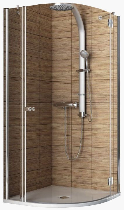 Душевой уголок Aquaform SOL DE LUXE Single-Door Right 80 (100-06043)