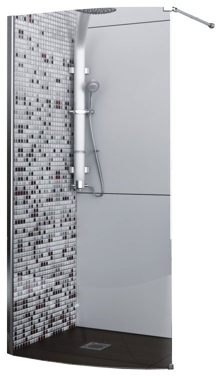 Душевой уголок Aquaform SOLITARE Walk-In Left (100-06085)