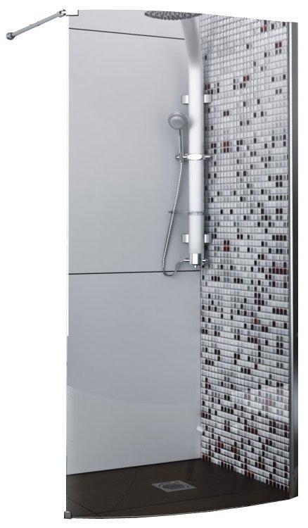 Душевой уголок Aquaform SOLITARE Walk-In Right (100-06084)
