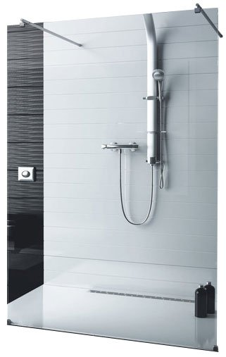 Душевой уголок Aquaform SOUL Walk-In With Two Stabilizers 100 (103-013001)
