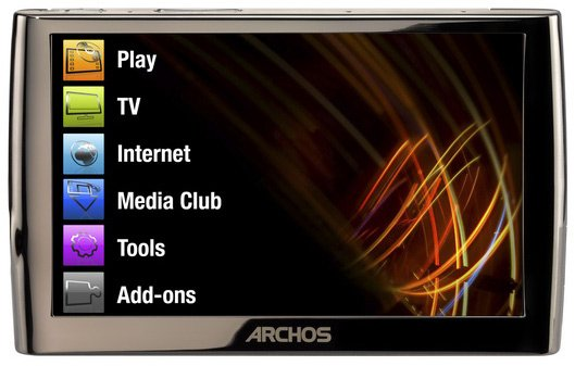 Flash - ����� Archos 5 Wi-Fi 250Gb